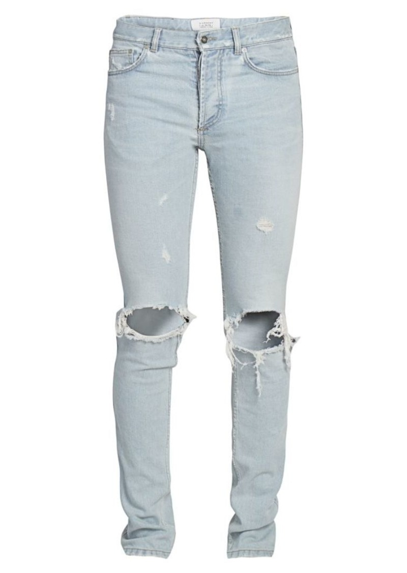 Givenchy Slim-Fit Distressed Jeans