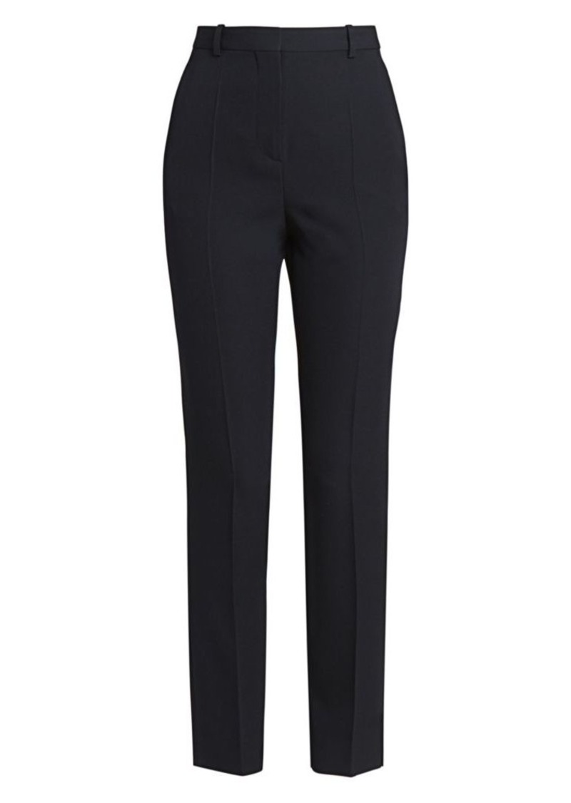 Givenchy Slim Fitted Ankle Wool Trousers