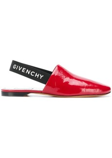 Givenchy slingback vinyl sandals