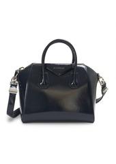 Givenchy Small Deep Blue Crinkle Antigona Bag