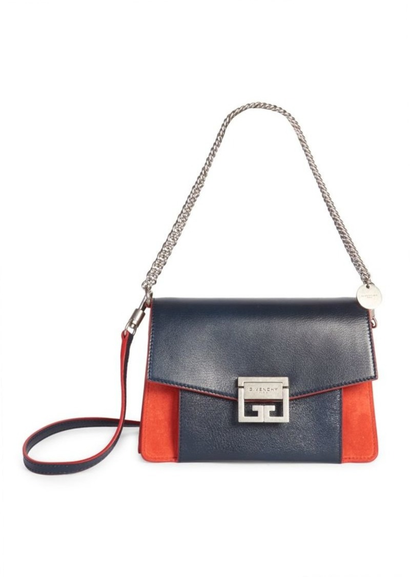32b51b5df7 Givenchy Small GV3 Blue   Red Shoulder Bag