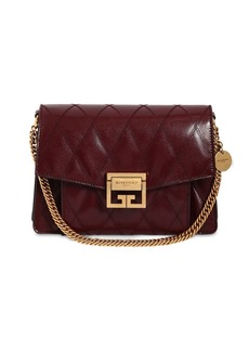Givenchy Small Gv3 Leather Matelassè Shoulder Bag