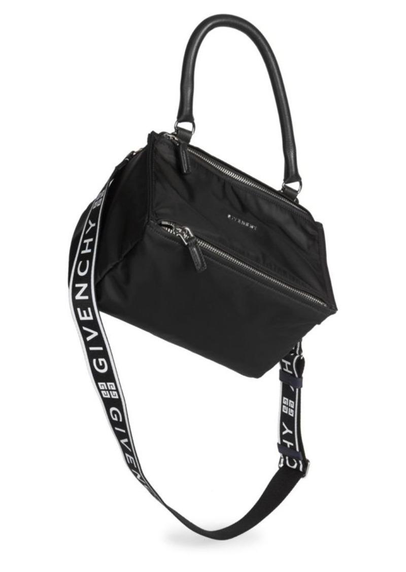 74266d511f6 Givenchy Small Nylon Pandora Bag With Logo Strap | Handbags