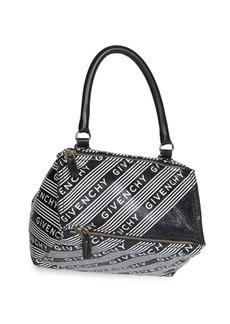 Givenchy Small Pandora Logo Leather Crossbody Bag