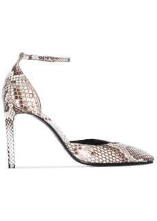 Givenchy snakeskin effect 100mm pumps