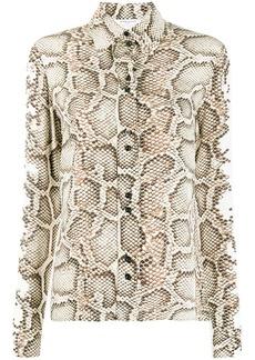 Givenchy snakeskin printed shirt
