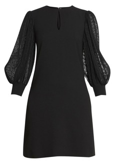 Givenchy Soft Wool Crepe Shift Dress