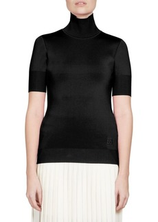 Givenchy Solid Turtleneck Top