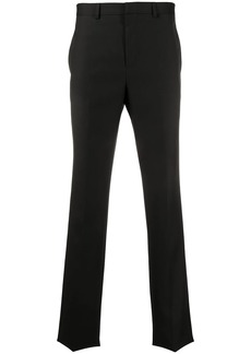 Givenchy split logo detail tailored trousers