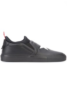 Givenchy star detail slip-on sneakers