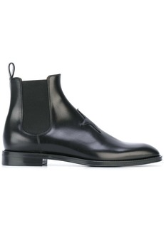 Givenchy star patch Chelsea boots