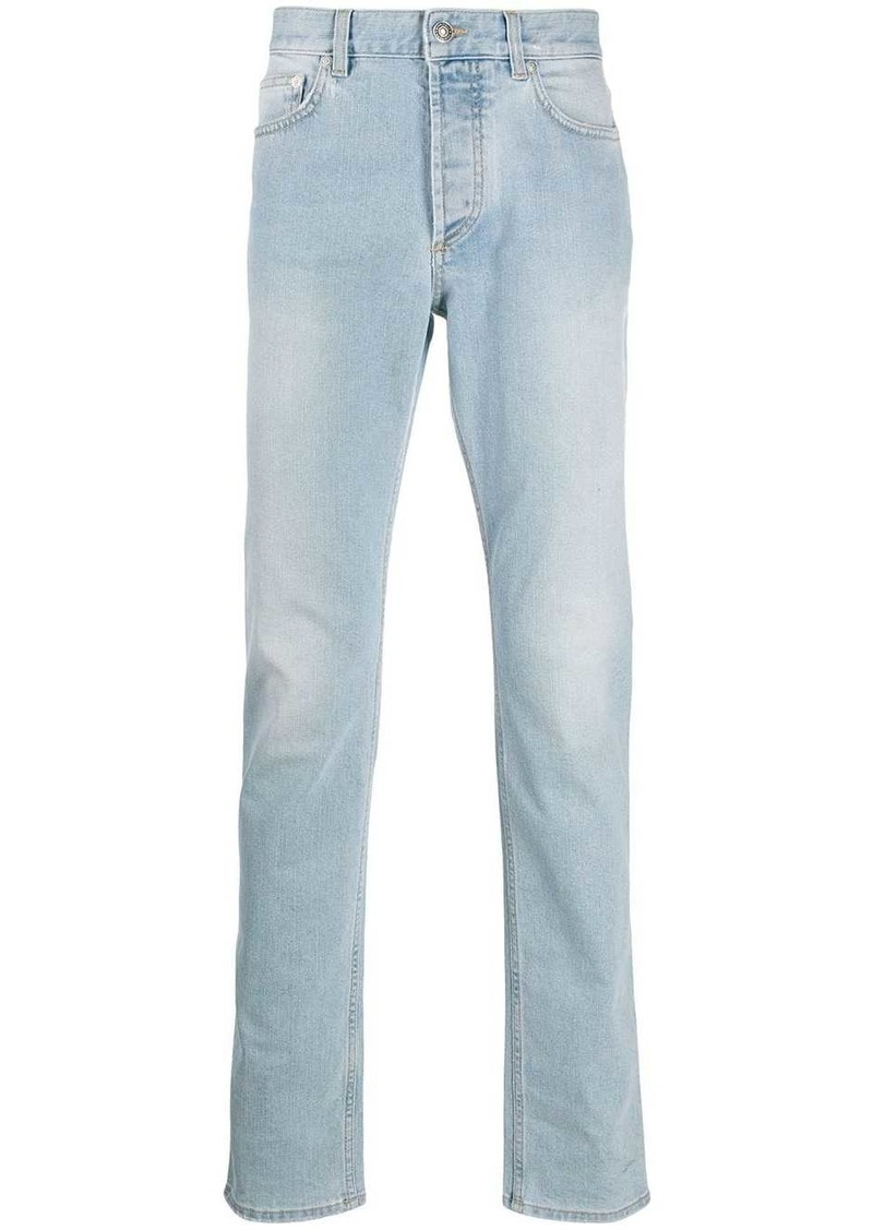 Givenchy straight-leg faded jeans