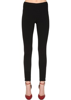 Givenchy Straight Tricot Knit Pants W/ Stirrups