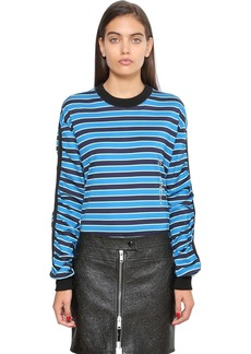 Givenchy Striped Cotton Jersey Sweatshirt