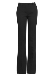 Givenchy Structured Silk Bootcut Pants