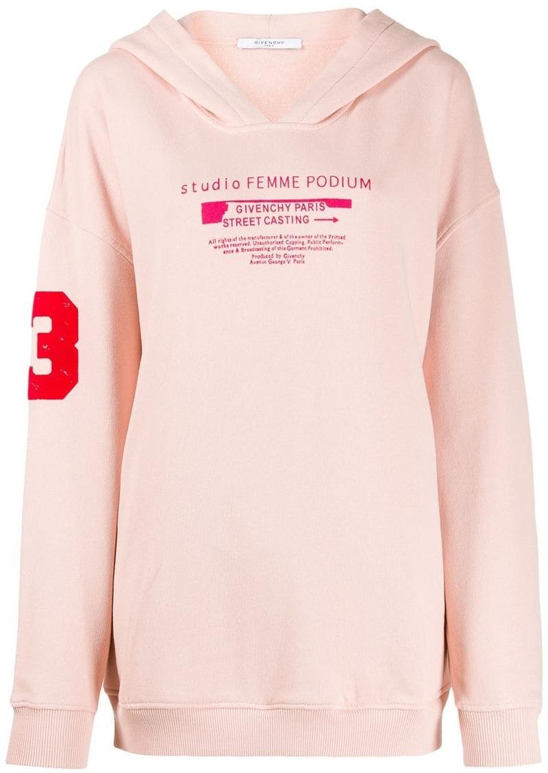 Givenchy Studio print hoodie