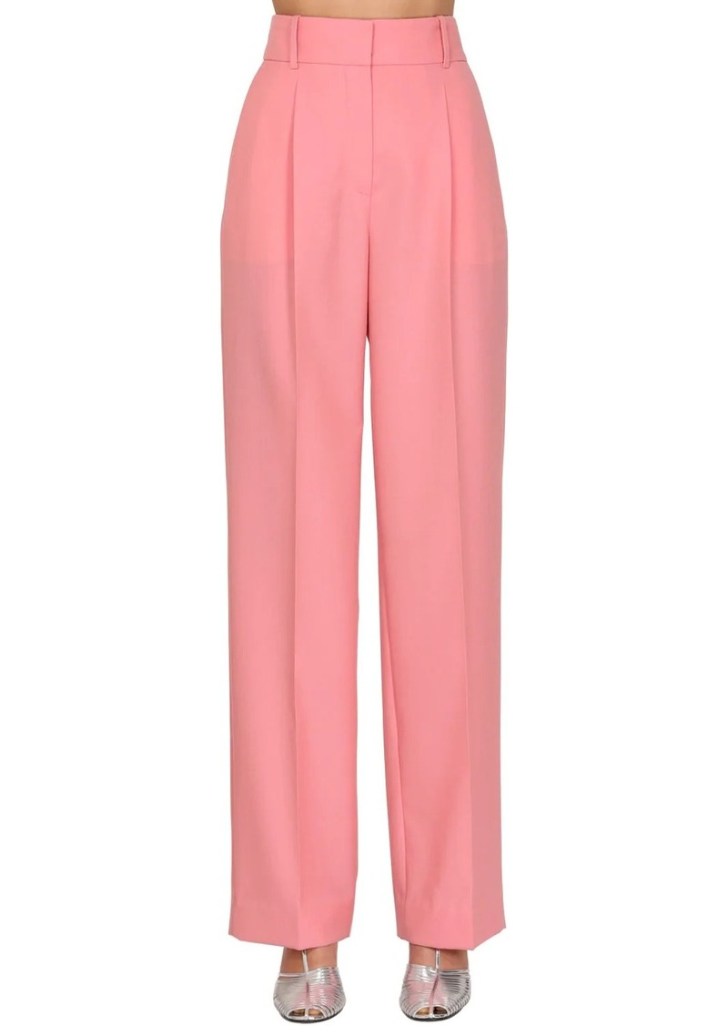 Givenchy Summer Wide Leg Wool Pants
