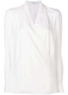 Givenchy surplice blouse