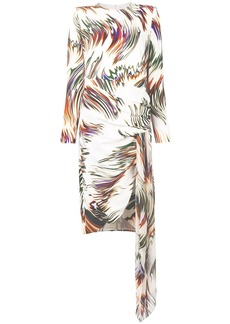 Givenchy swirl print dress