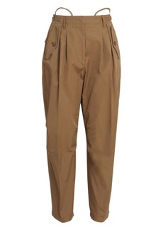 Givenchy Tapered Cotton Cargo Trousers