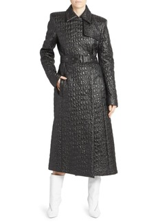 Givenchy Textured Trench Coat