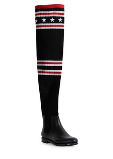 Givenchy Thigh High Sock Rainboots