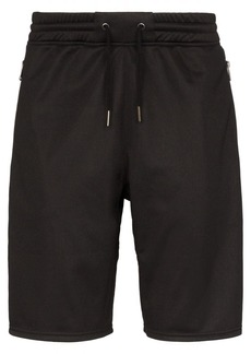 Givenchy Ticker logo stripe track shorts