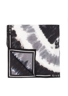Givenchy tie-dye silk-blend scarf