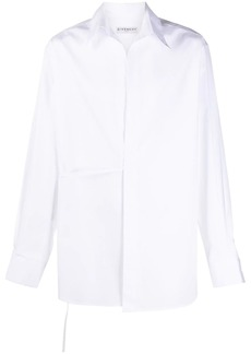 Givenchy tie fastened shirt