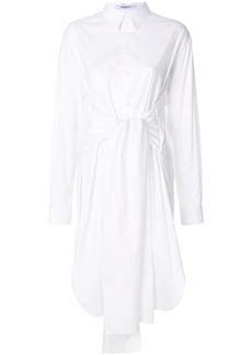 Givenchy tie waist midi shirt dress