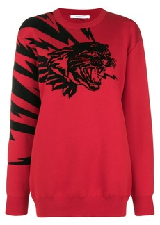 Givenchy Tiger embroidered sweater