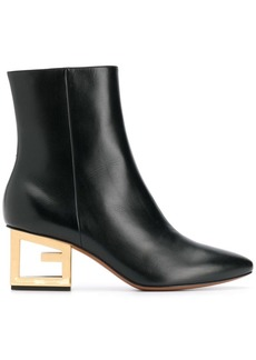 Givenchy Triangle 60 ankle boots