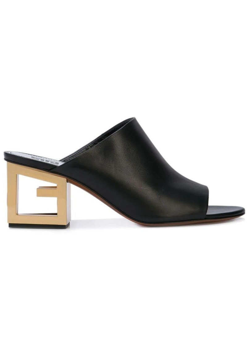 Givenchy Triangle mules