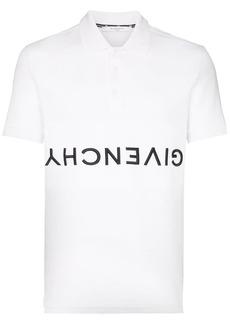 Givenchy upside-down logo polo shirt