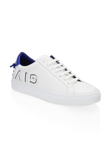 Givenchy Urban Street Lace-Up Leather Sneakers