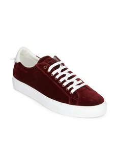 Givenchy Urban Street Velvet Low-Top Sneakers