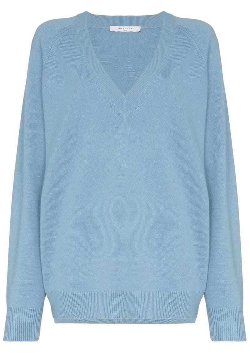 Givenchy V-neck relaxed fit sweater