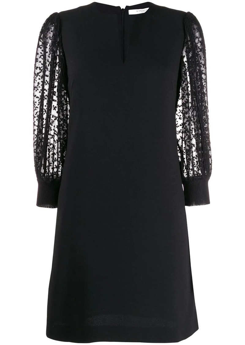 Givenchy V-neck shift dress