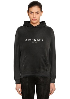 Givenchy Vintage Logo Jersey Sweatshirt Hoodie