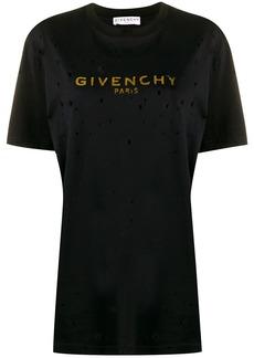 Givenchy vintage logo print T-shirt