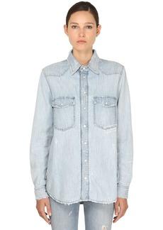 Givenchy Vintage Super Bleach Denim Shirt