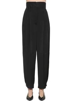 Givenchy Viscose Crepe Cargo Pants