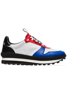 Givenchy white and red TR3 Runner leather sneakers