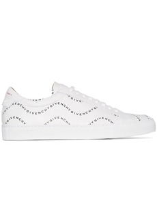 Givenchy white Urban Street logo wave sneakers