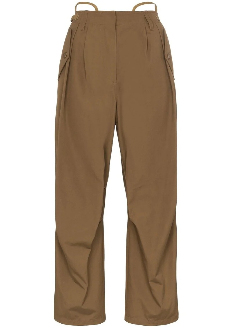 Givenchy wide-leg cargo trousers