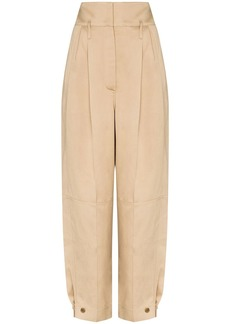 Givenchy wide leg pleated trousers