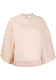 Givenchy wide sleeve jumper