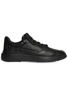 Givenchy Wing Leather Sneakers W/logo