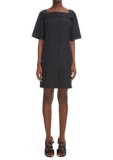 Women's Givenchy Square Neck Short Cotton Dress