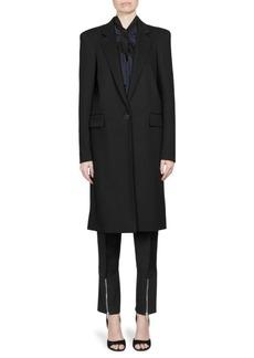 Givenchy Wool Crepe Coat